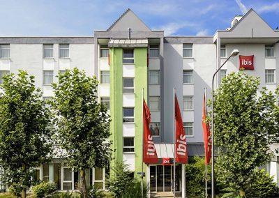 Ibis Frankfurt Messe West Aussenansicht
